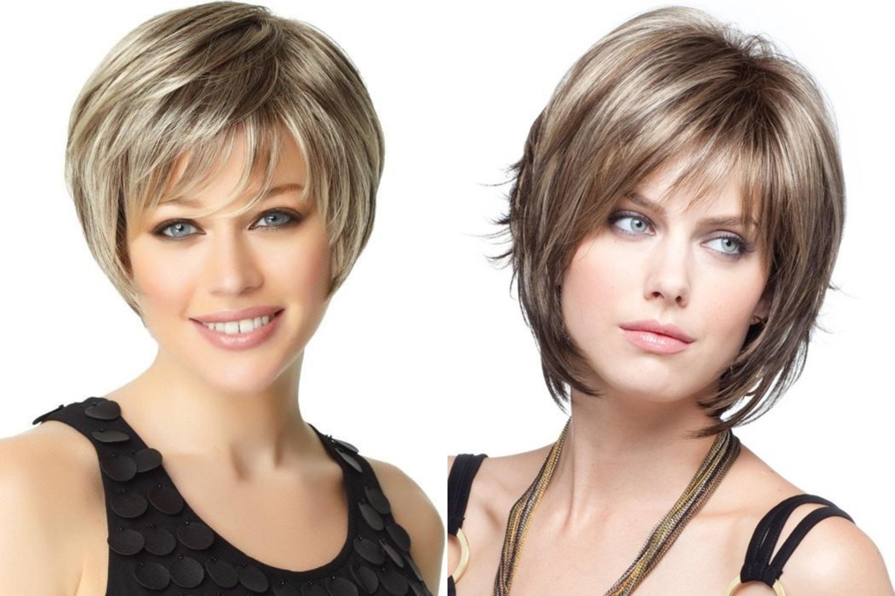 Стрижки на средние волосы омолаживающие лицо
