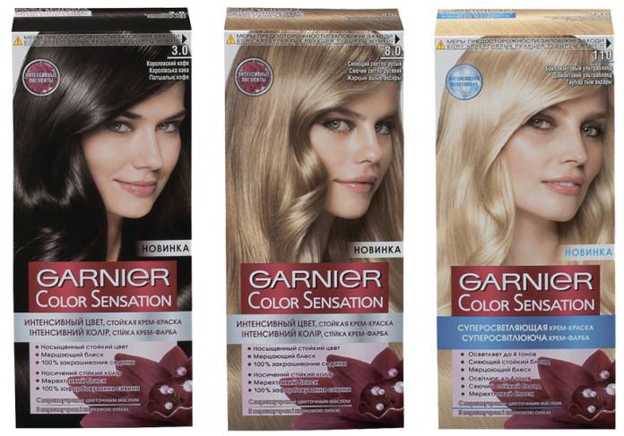 Краска для волос гарньер палитра рыжих цветов