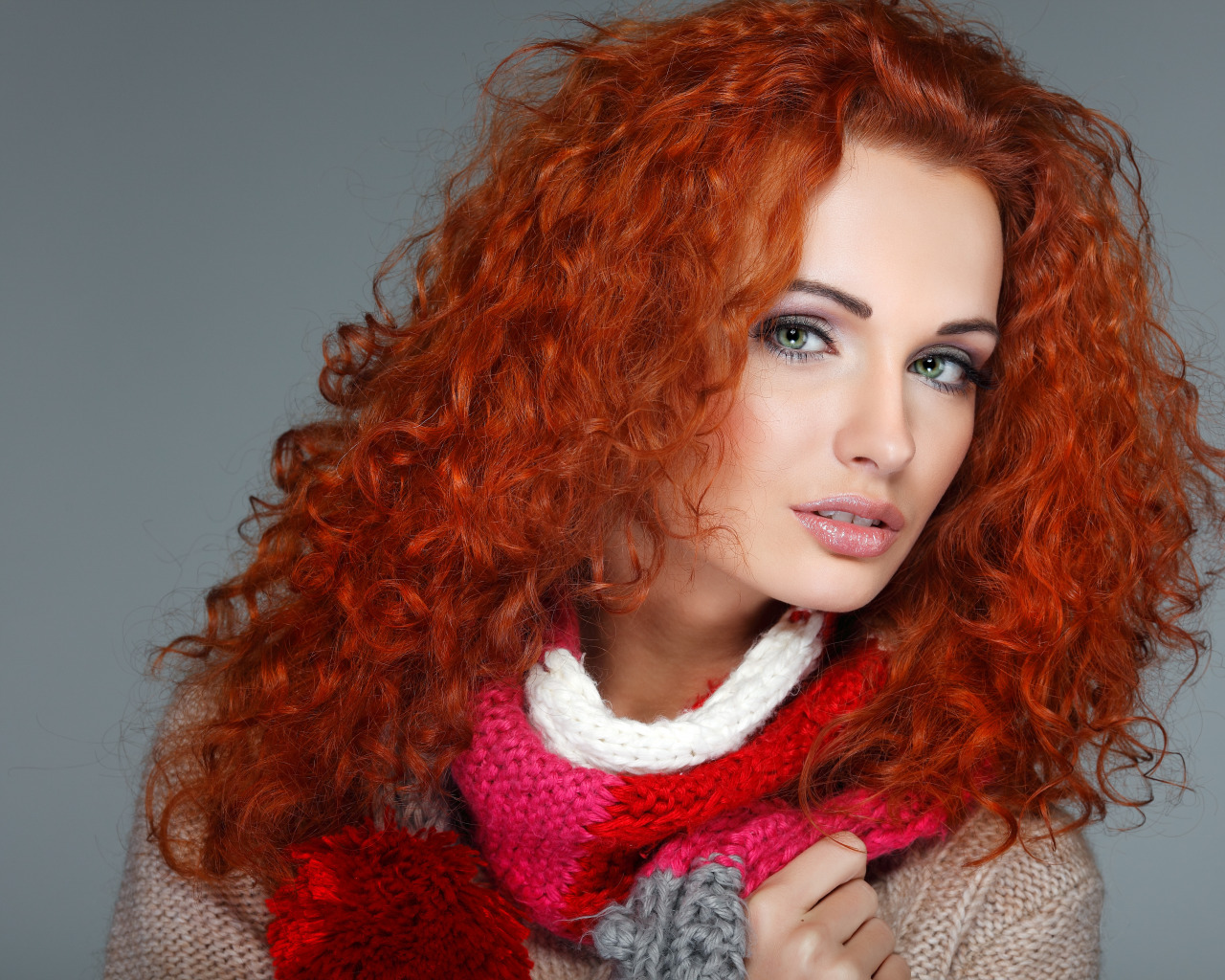 Рыжий цвет хной фото