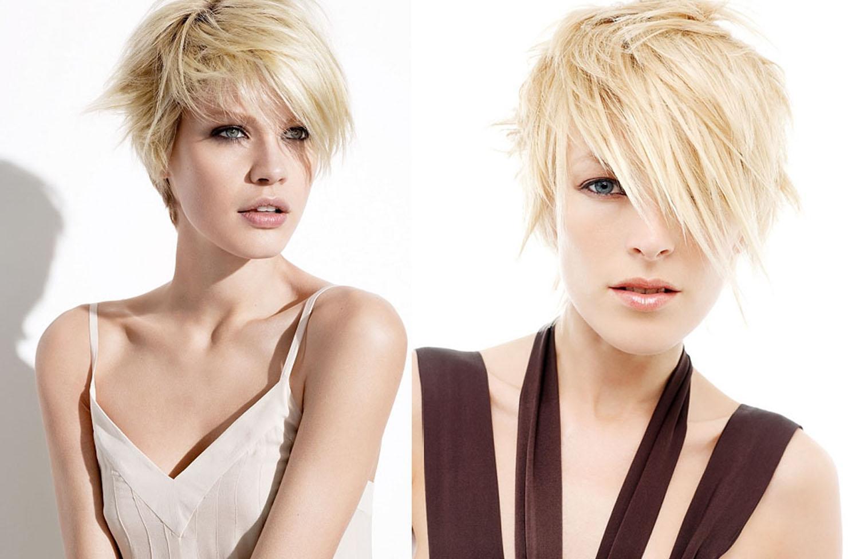 Стрижка каприз на средние, длинные и короткие волосы