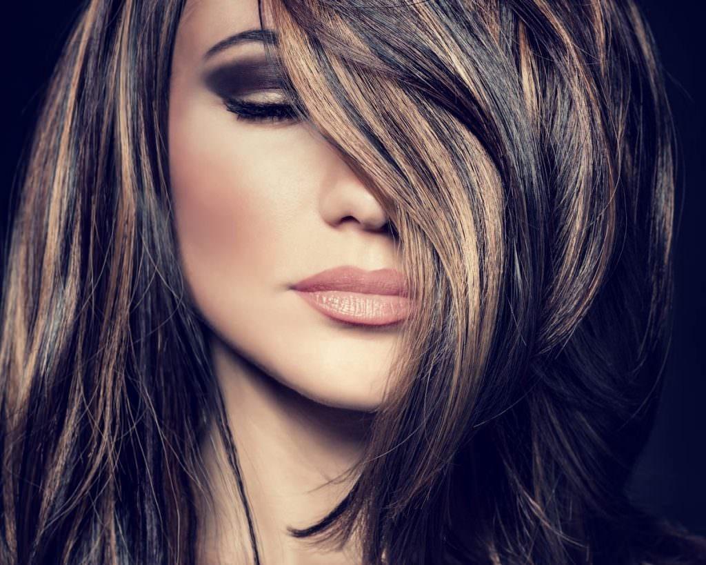 Виды покраски волос для брюнеток