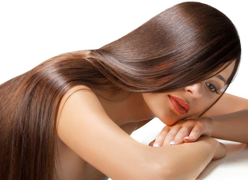 Обработка волос кератином