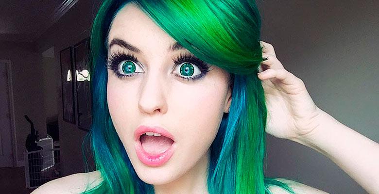 Как подобрать цвет волос для зеленых глаз