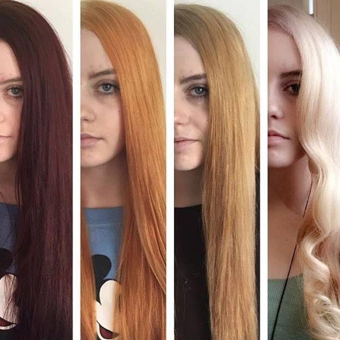 Как без вреда осветлить волосы в домашних условиях? Быстрое и безопасное осветление окрашенных темных и русых волос дома