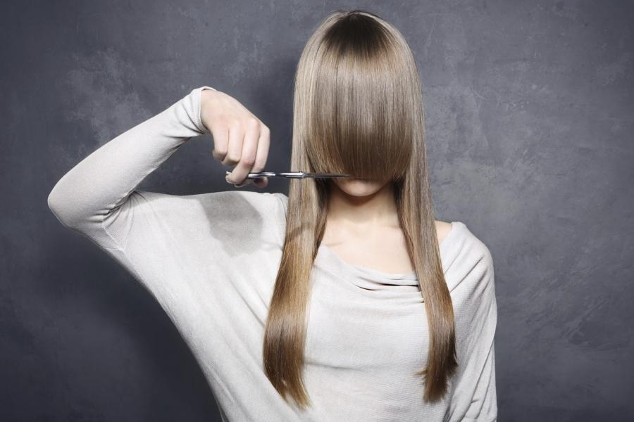Как самой подстричь волосы? 55 фото Как ровно себе подстричь волосы самостоятельно в домашних условиях? Как сделать модельную стрижку дома?
