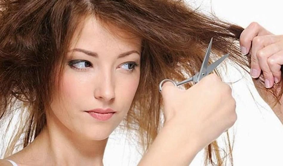 Как спасти пережженные волосы