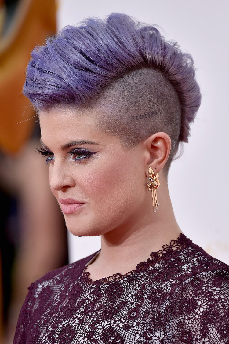 Shaved mohawk styles — pic 8