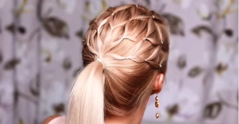 Прически с резиночками на средние волосы: взрослые прически с резинками или одной резинкой пошагово в домашних условиях