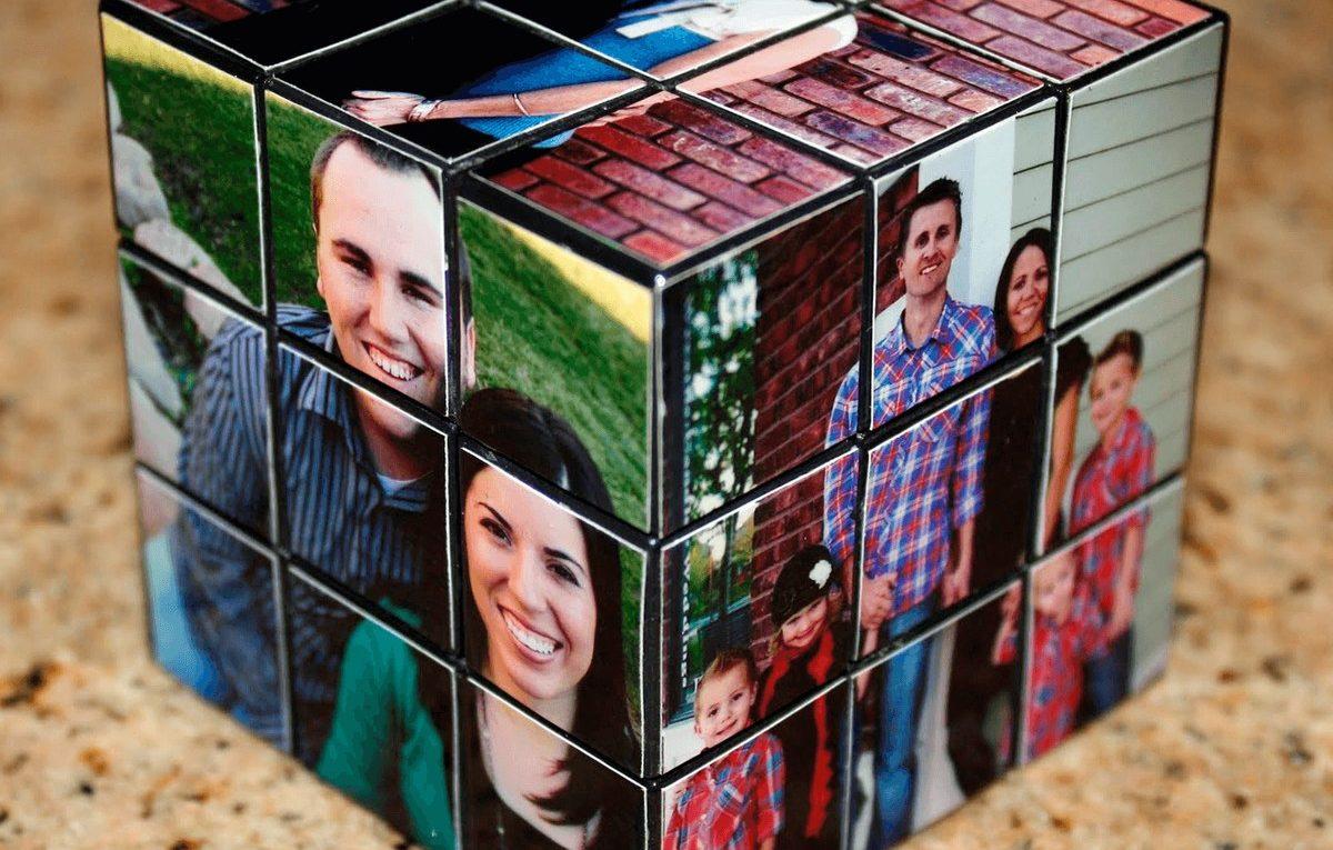 подарок с фотографиями идеи цвета хаки
