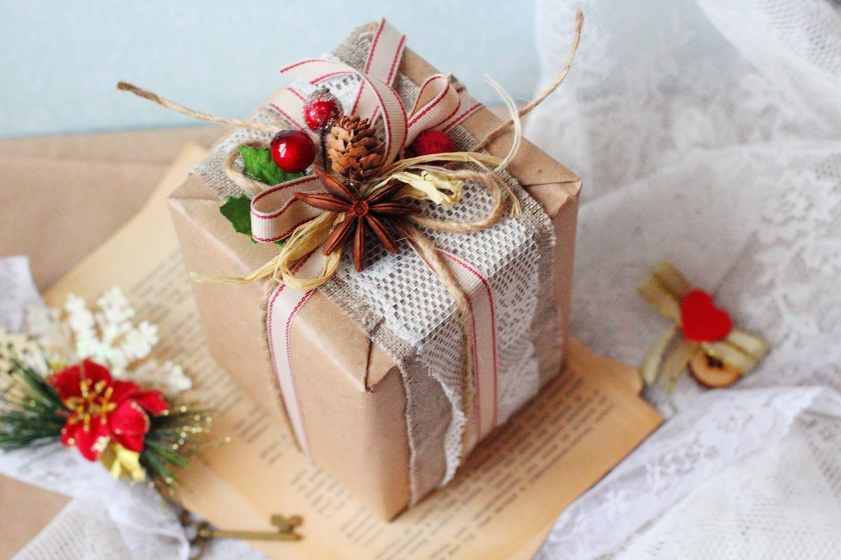 Как упаковать подарок на Новый Год 2020: 6 крутых лайфхаков, фото, пошаговая инструкция