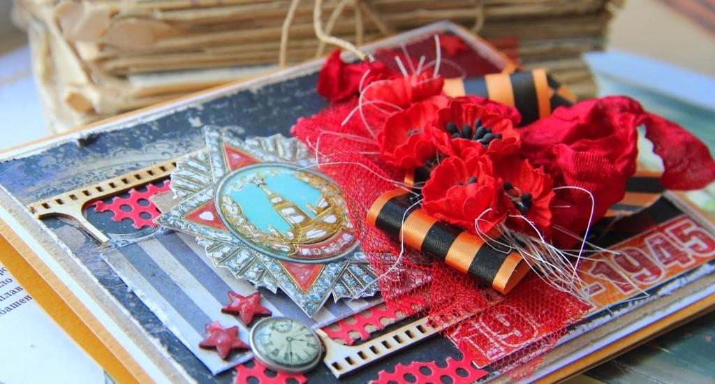 Красивые, мастер-класс открытки своими руками на 9 мая