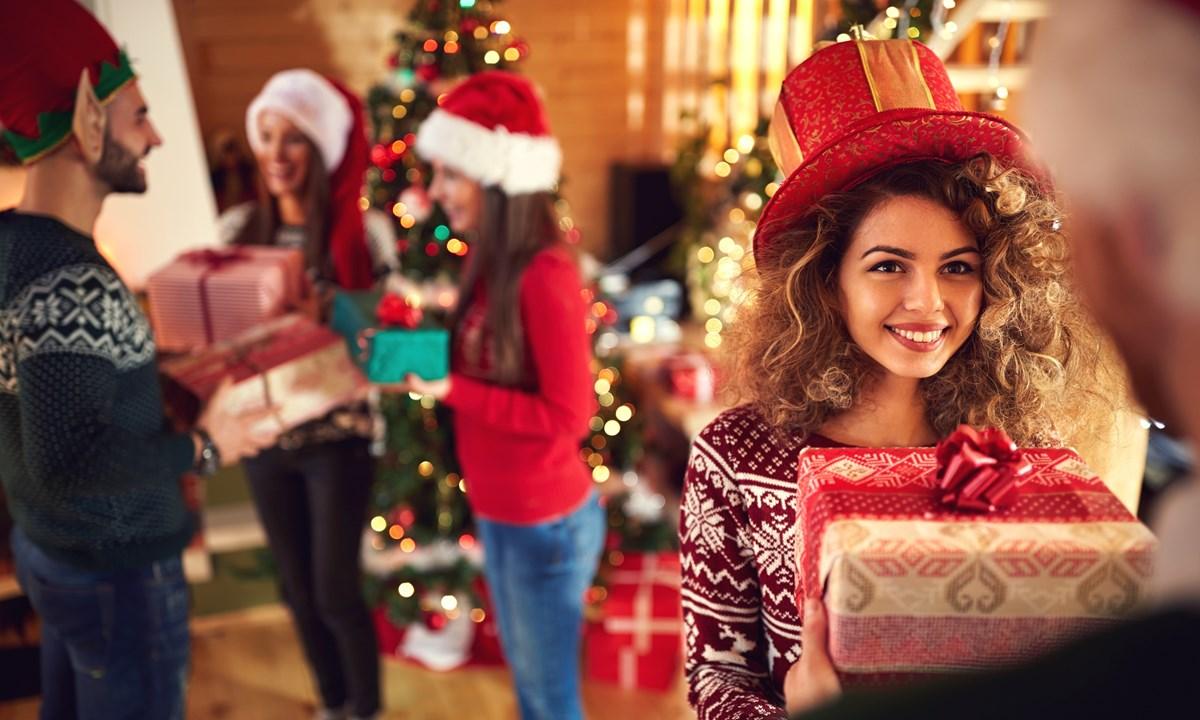 Милые подарки на рождество