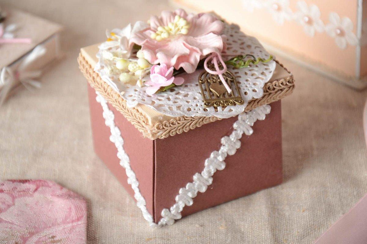 коробочки для подарков скрапбукинг фото хорош, есть такая