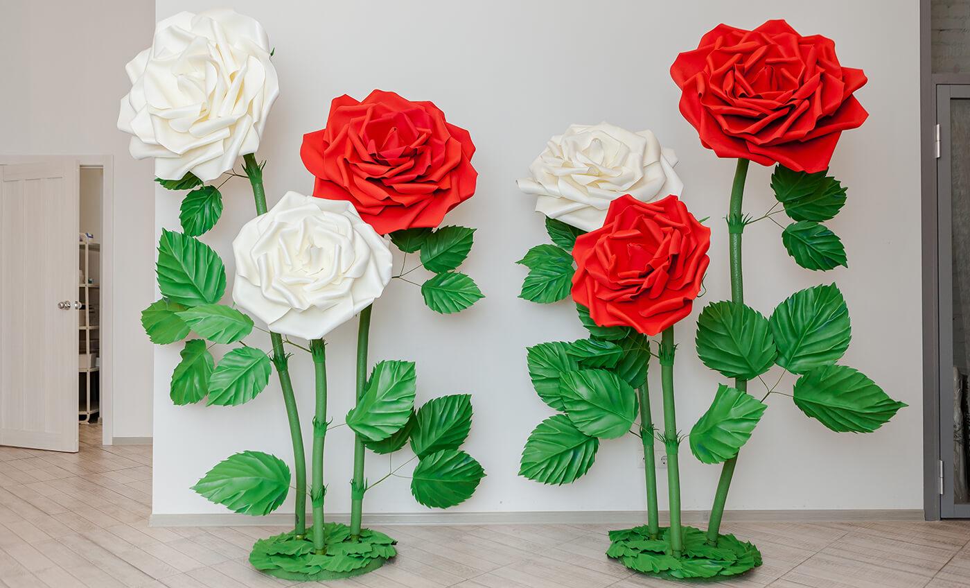 rostovye-cvety-iz-foamirana Цветы из фоамирана своими руками 75 фото для начинающих