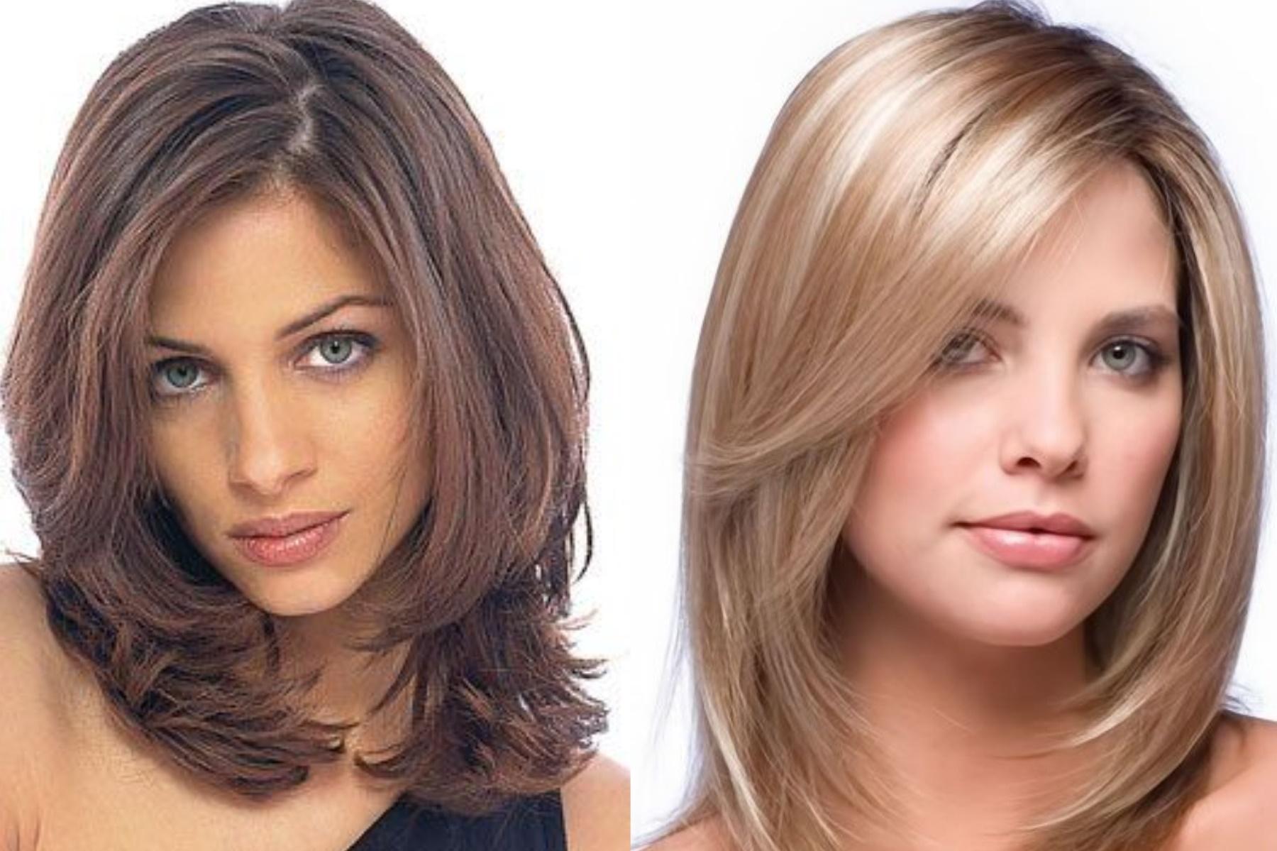красивые стрижки на средние волосы фото проводится перед