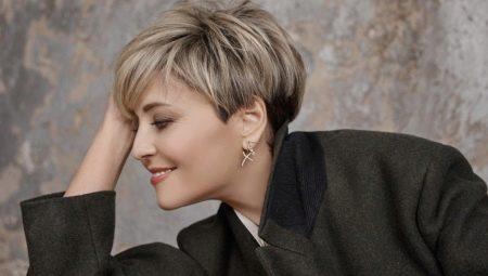 Оттенки блонда на короткие волосы