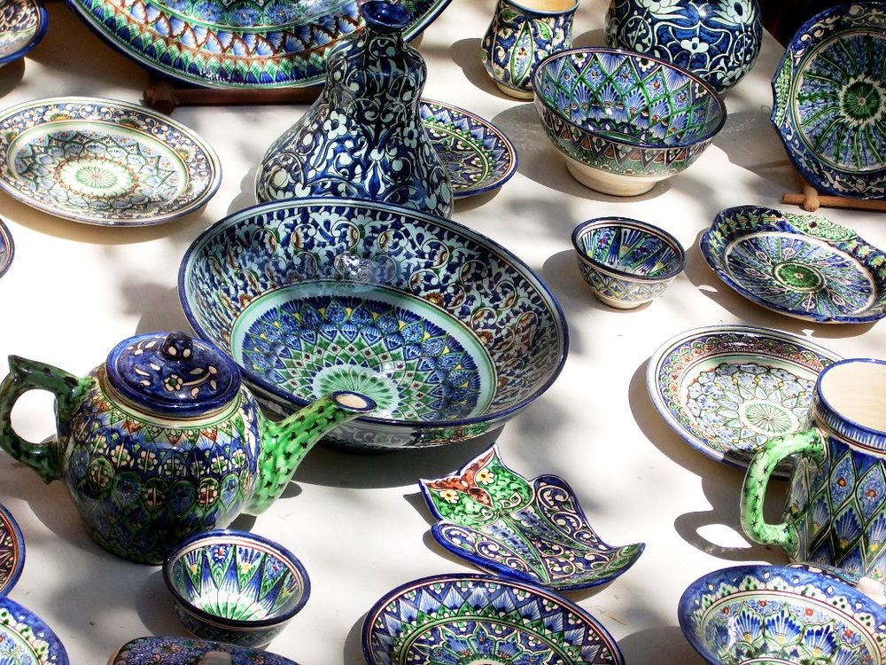 для узбекская посуда фото его отношение живописи