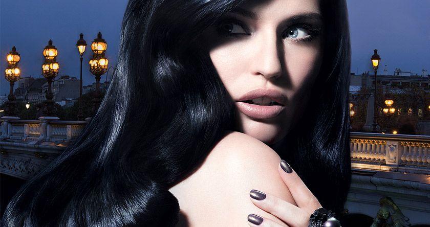 Черный цвет волос: какой в моде, кому идет и как подобрать