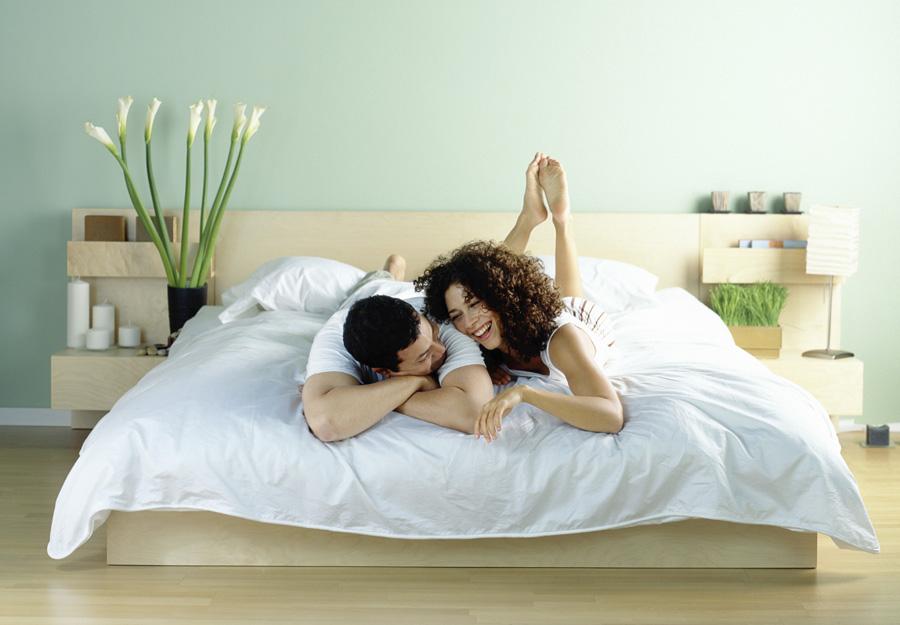 Кровать относительно двери по фен шуй