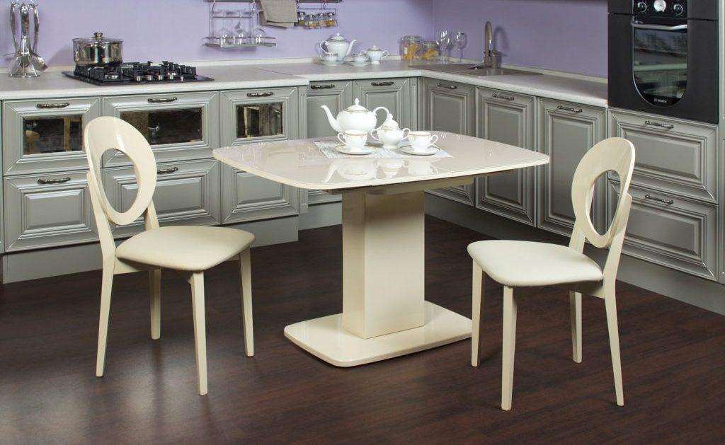 Размеры кухонного стола: как подобрать удобный и функциональный предмет мебели