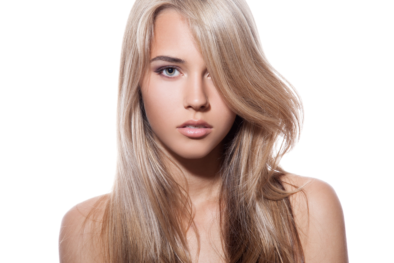 Блонд на темно русые волосы