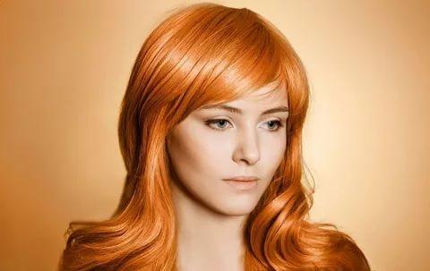 Рыжевато русый цвет волос