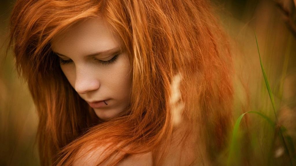 Светло рыжие волосы краска