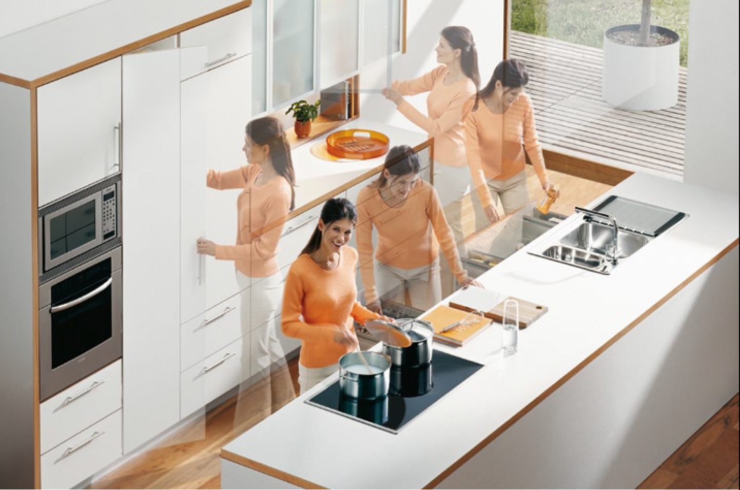 Размеры столешницы для кухни эргономичность и рациональность