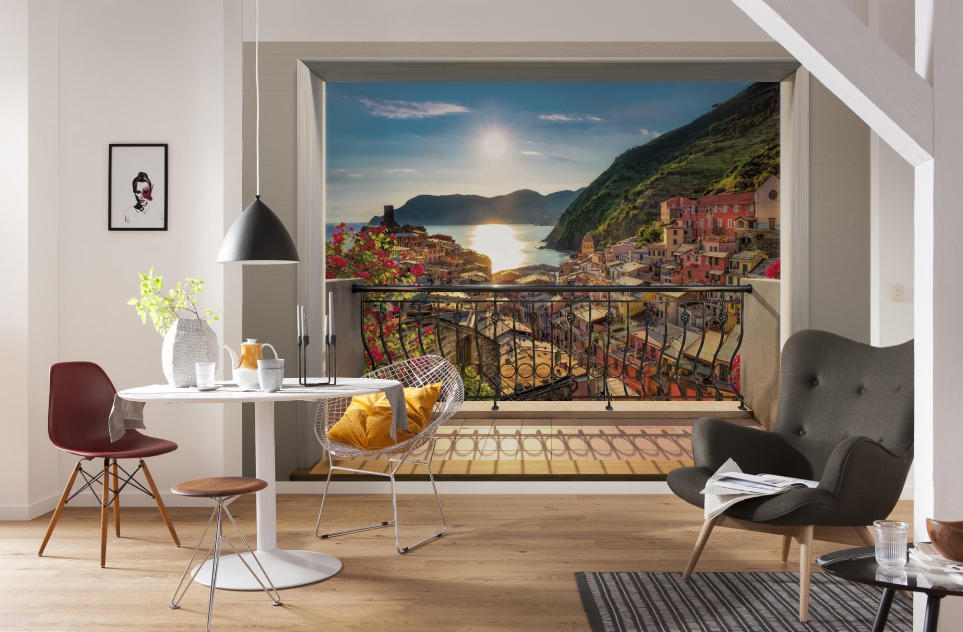соединяются постеры и фотообои на стену заливай