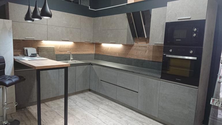 Кухни цвет бетон трансформаторы для прогрева бетона в москве
