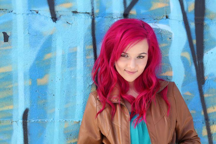 Розовые волосы (50 фото) — Все оттенки зефирного цвета