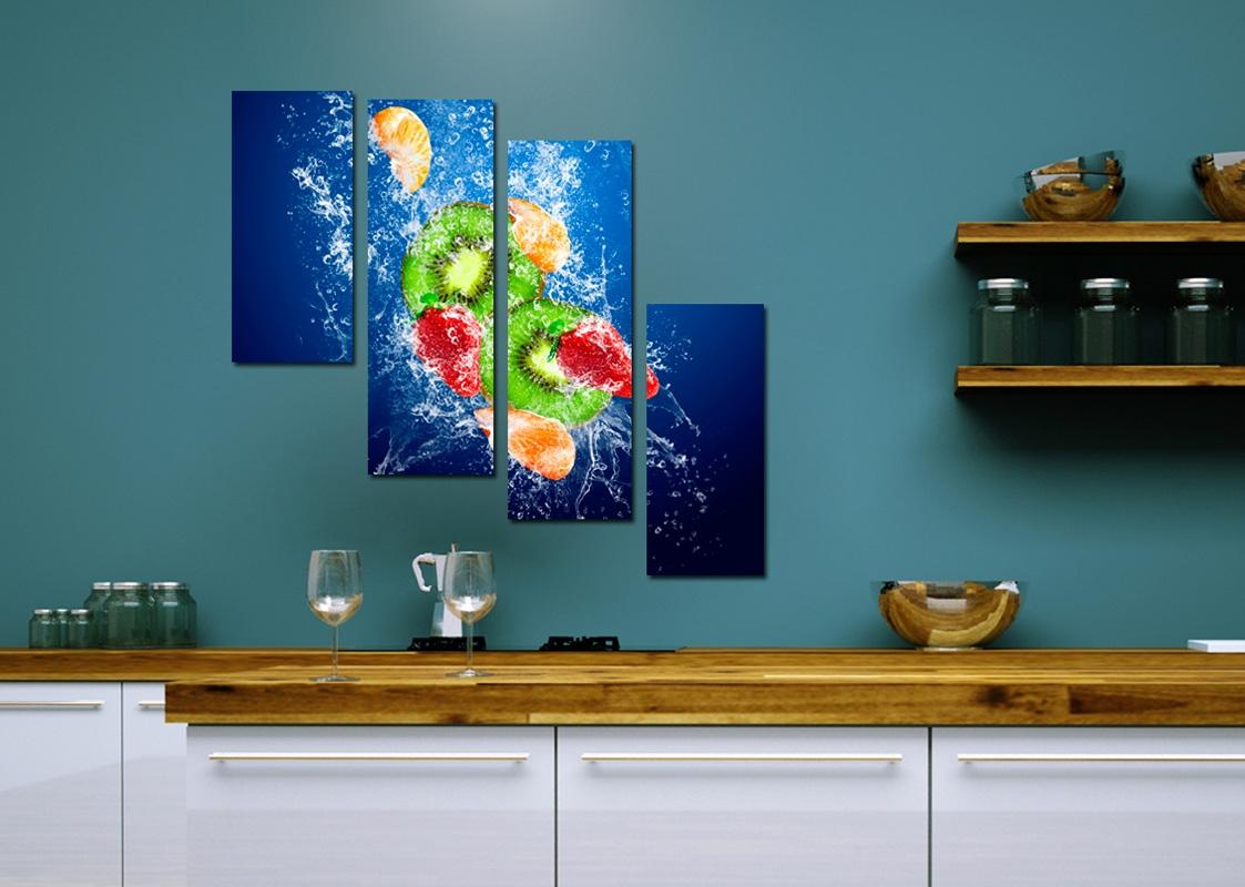 модульная картина для кухни архитектор