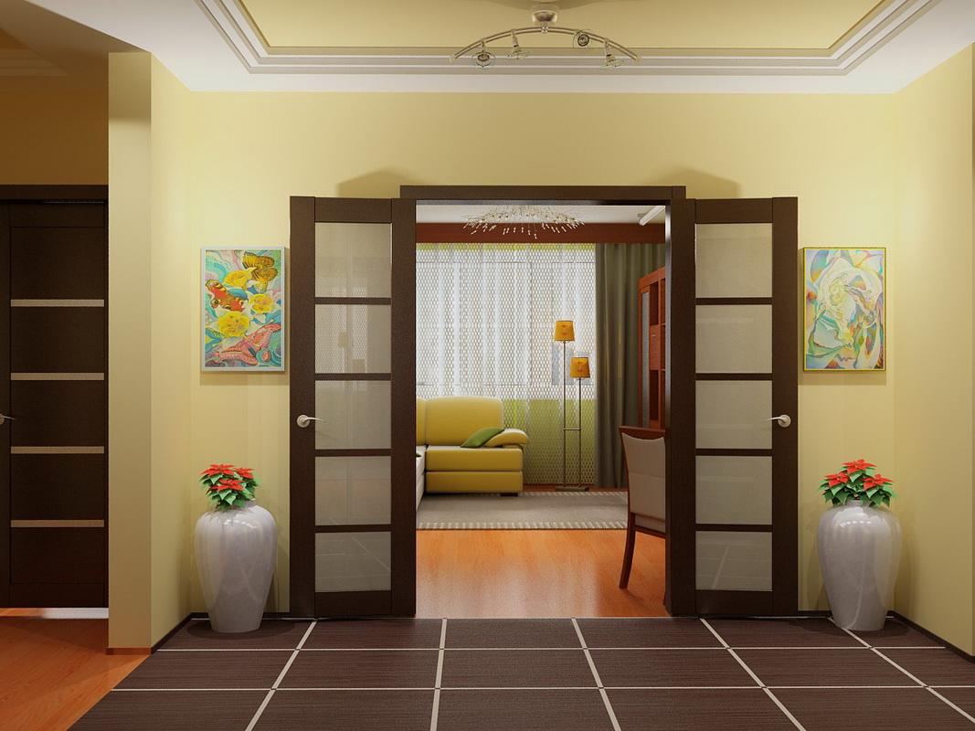 фото длинного зала с дверью посередине методы усиления