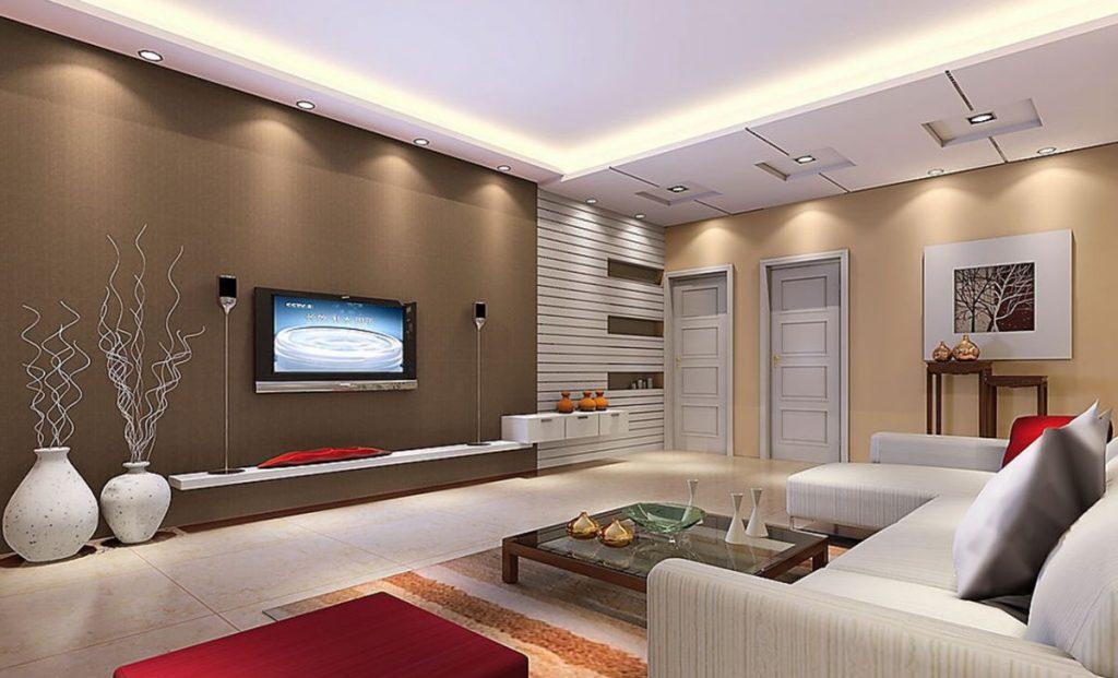 красивые потолки фото для гостиная ютуб яркая