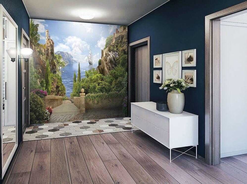 Обои в коридор на стену картинки гостил екатеринбурге