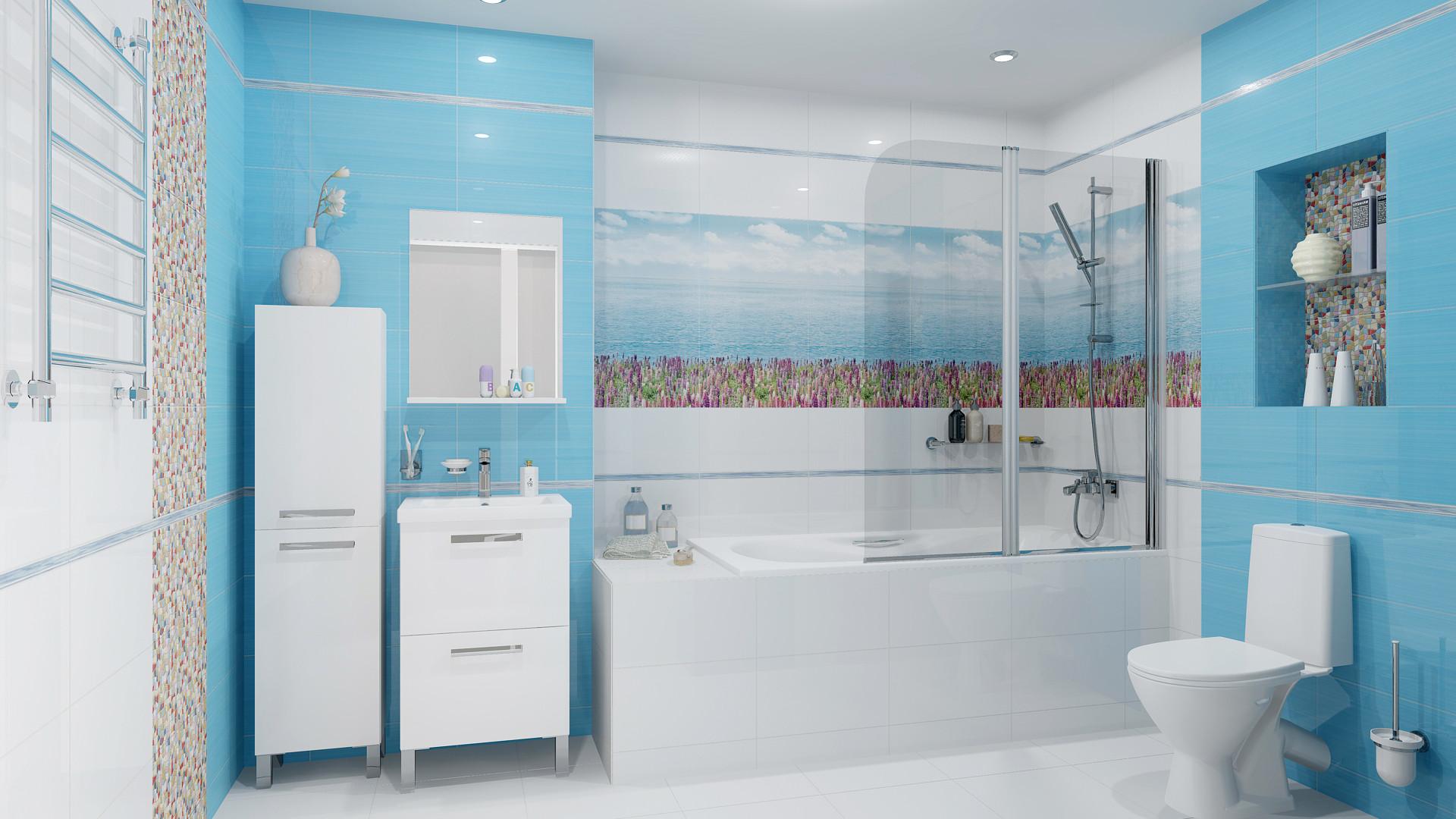 Керамическая плитка для ванной картинки