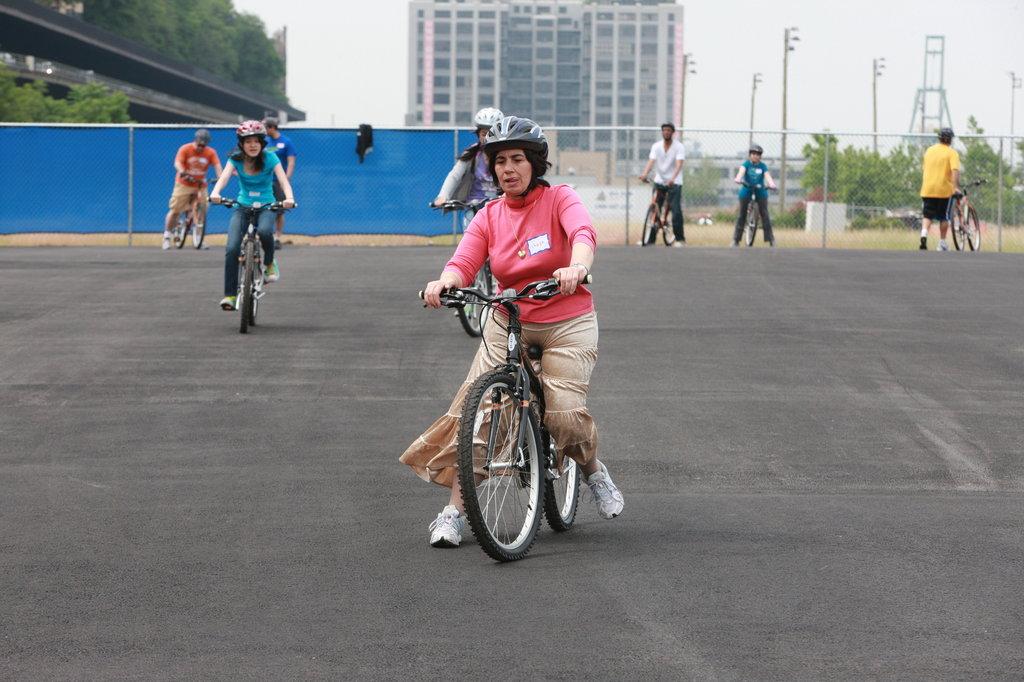 как учиться кататься на велосипеде сделала еще