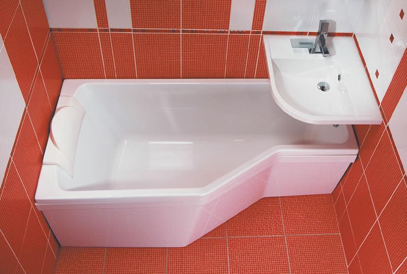 Дизайн маленькой ванной комнаты — идеи с фото