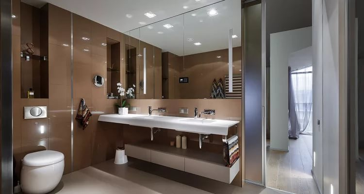 Как подобрать размеры туалета при проектировании санузла в частном доме