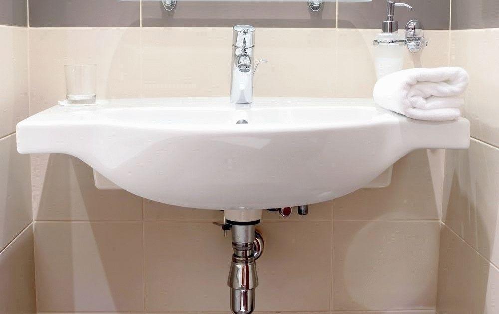 Высота раковины в ванной по стандарту выбор уровня виды раковин их размеры