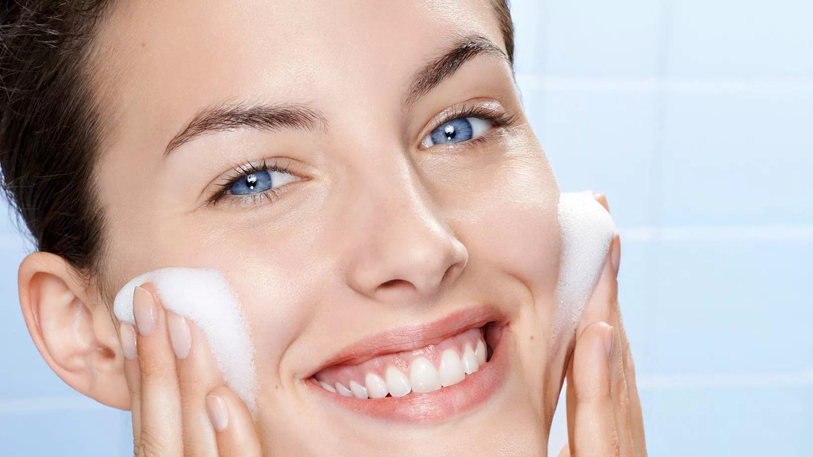очищение кожи картинки лица