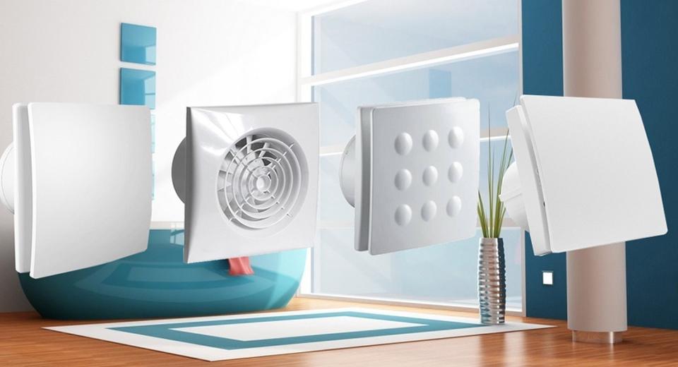 Хорошая вентиляция в ванной комнате