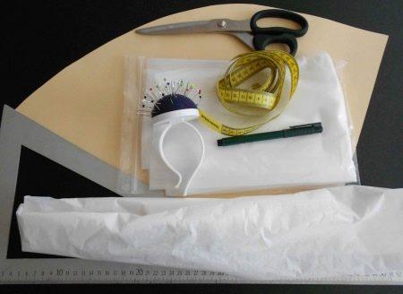 Инструменты для пошива свадебного корсета