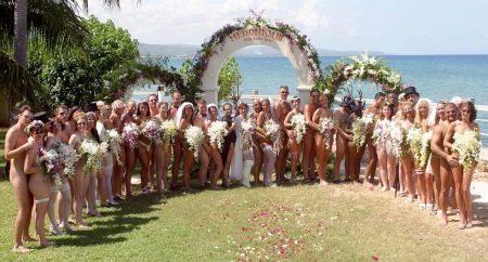 Свадьба в обнаженном виде