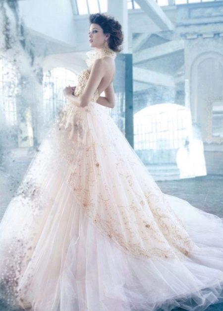 Свадебное платье от Лазаро