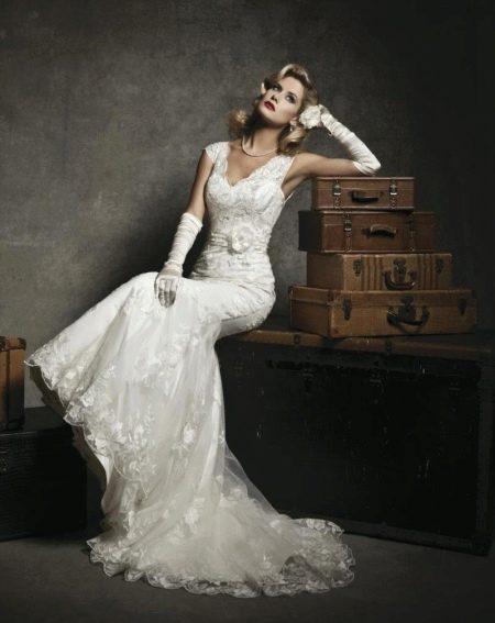 Свадебное платье от Justin Alexsander