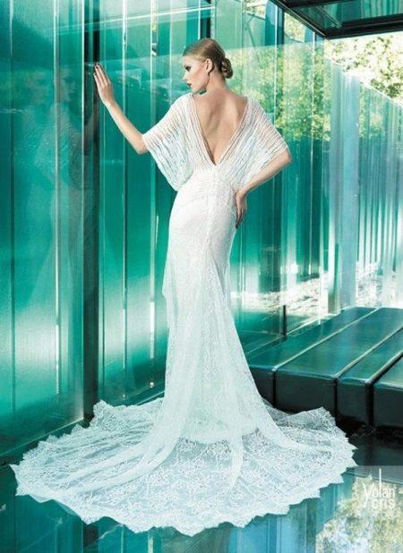 Элегантное свадебное платье от Yolan Cris