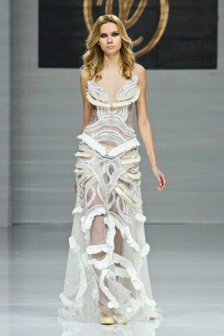 Оригинальное свадебное платье от Юдашкина