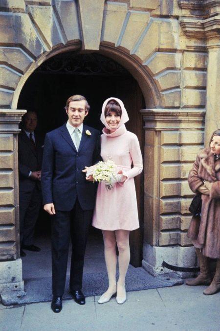 Короткое свадебное платье Хэпберн Одри