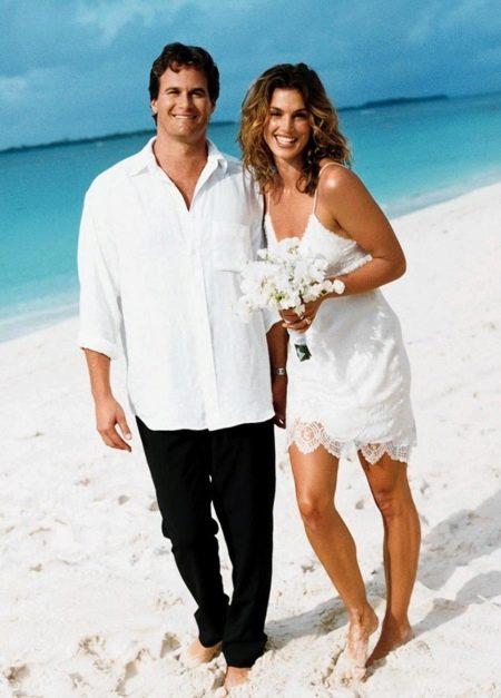 Короткое свадебное платье Кроуффорд Синди